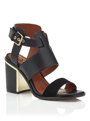 SYDNEY METALLIC FLASH SANDAL, £45