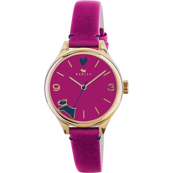 RADLEY GIRLS BEST FRIEND AZALEA LEATHER STRAP WATCH, £54.99 (RRP £99.95) USE DISCOUNT CODE 'SB6'