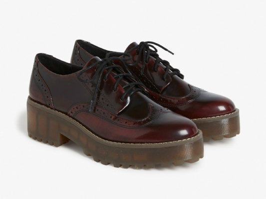 MONKI PLATFORM OXFORDS, £40