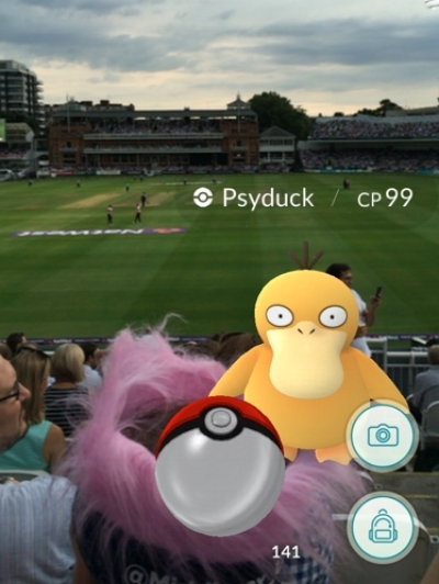 Pokemon Go + Twenty20 Cricket = A Drunk Developer