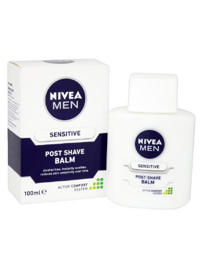 NIVEA MEN SENSITIVE POST SHAVE BALM - PACK OF 3, £7.89