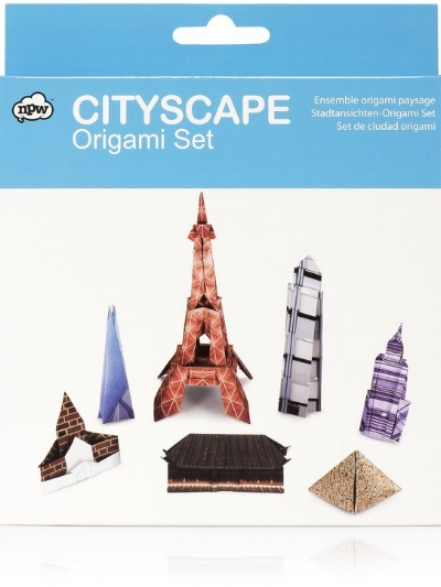 CITYSCAPE ORGAMI SET,  £7.50