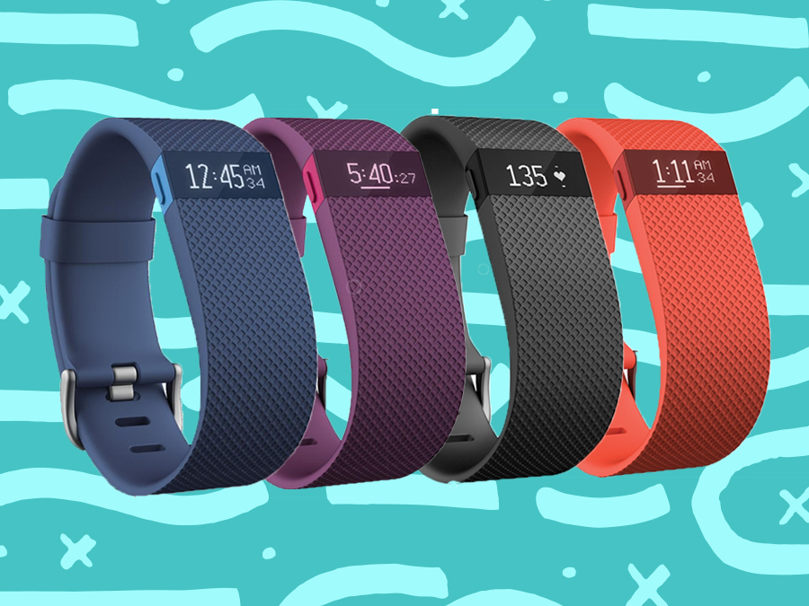 FITBIT CHARGE HR FITNESS BAND , £89.99