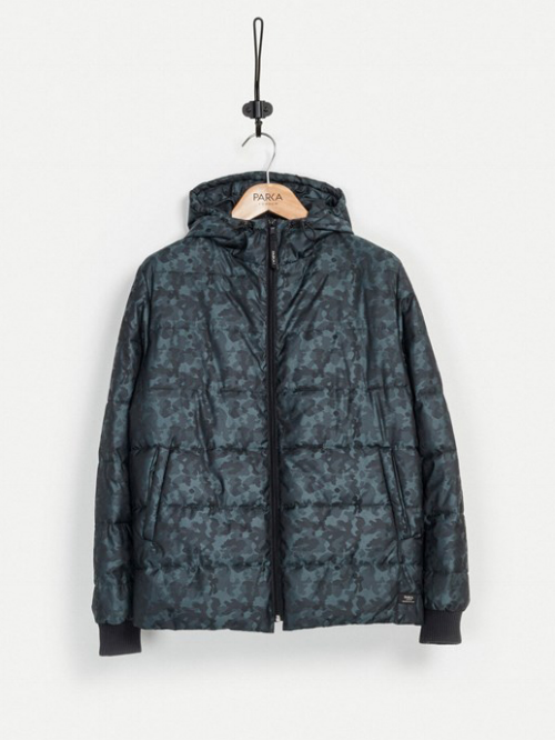 CURTIS HOODED QUILTED JACKET,  £145