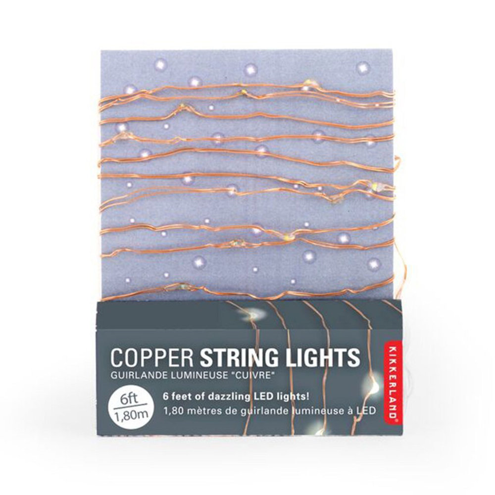 COPPER STRING LIGHTS,  £9.50
