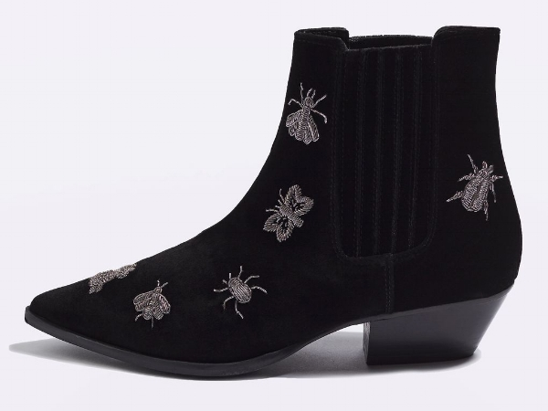 ANTS BUG EMBROIDERY BOOTS , £69