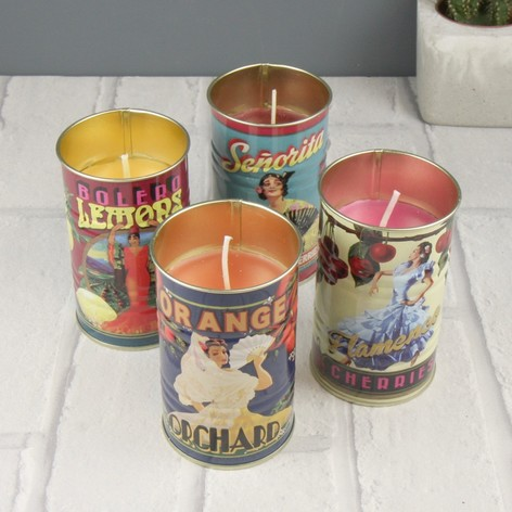 TEMERITY JONES MINI TIN SUMMER CANDLE , £7