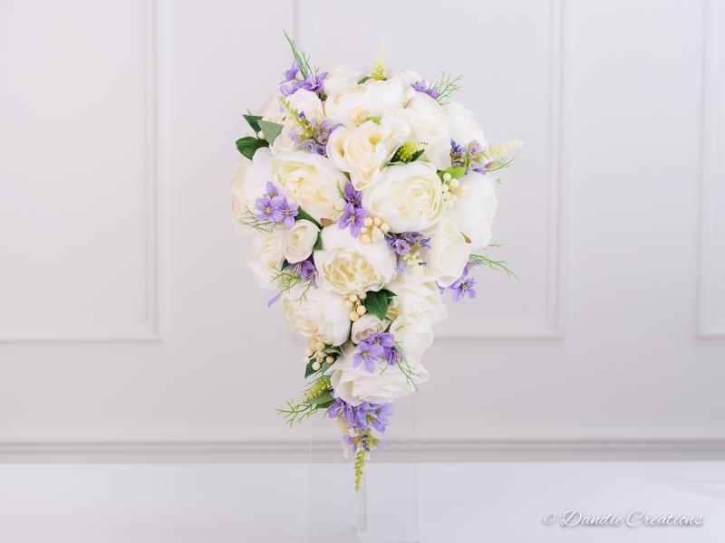 Silk Bouquets Wedding Flowers Dandie Creations