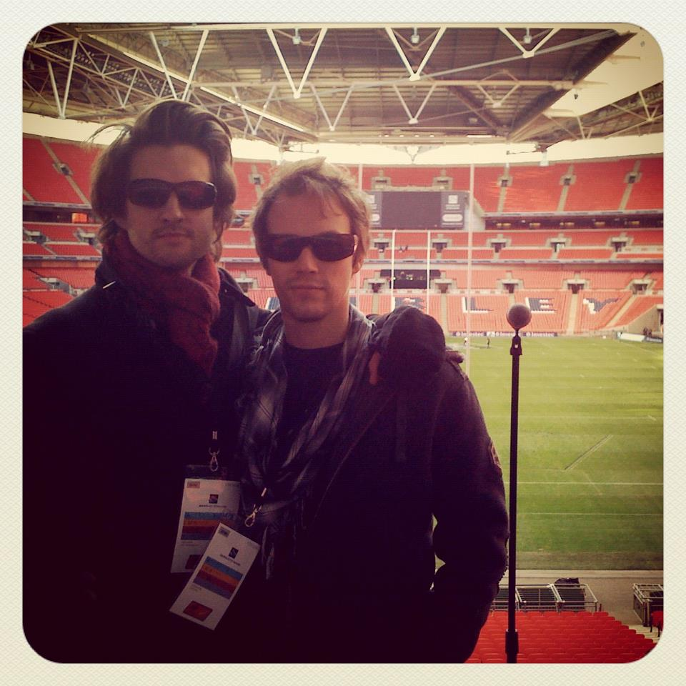 Soundcheck at Wembley Stadium