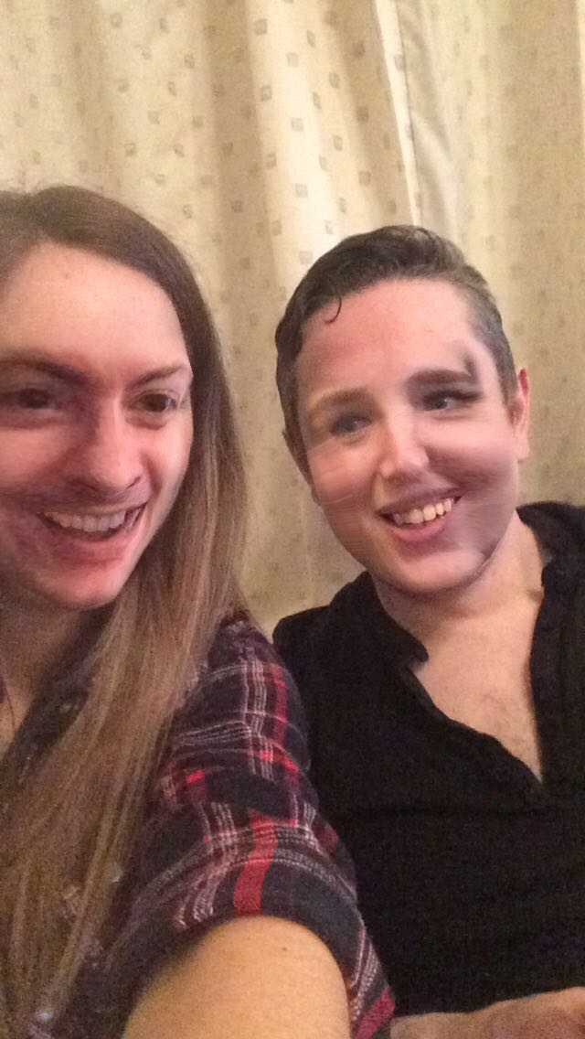 Kat and Gary faceswapping
