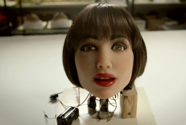 One day this disembodied sex robot head will contain the face of Demi Moore