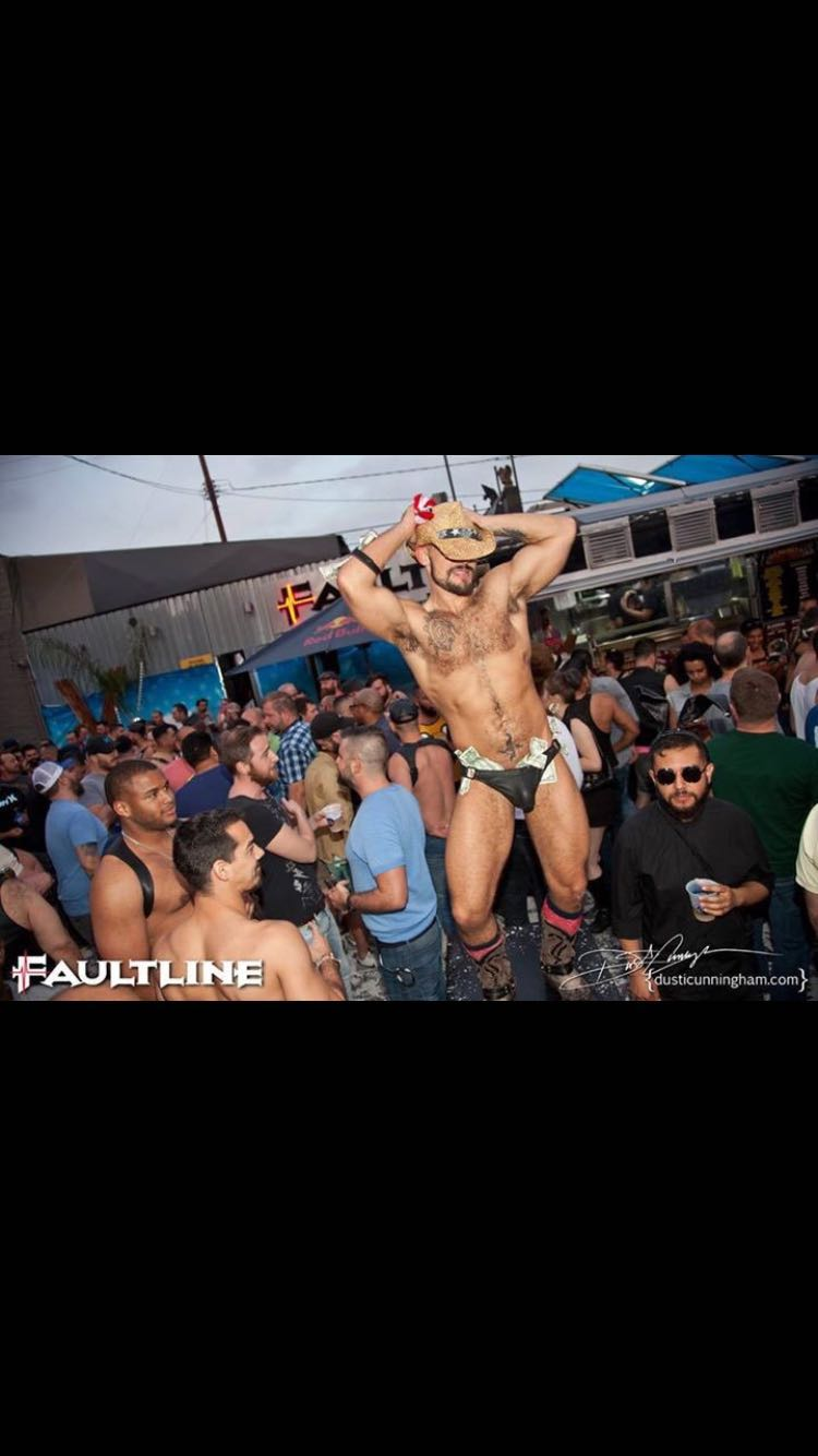 Faultline - LA's premier bear club. Rocchi will be featuring on an E-Flyer so look out for it!