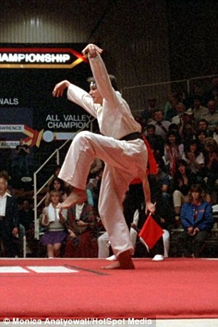 The Karate Kid invented bullet time