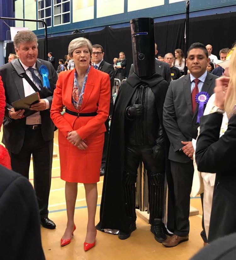 Lord Buckethead - single handedly making UK elections more interesting