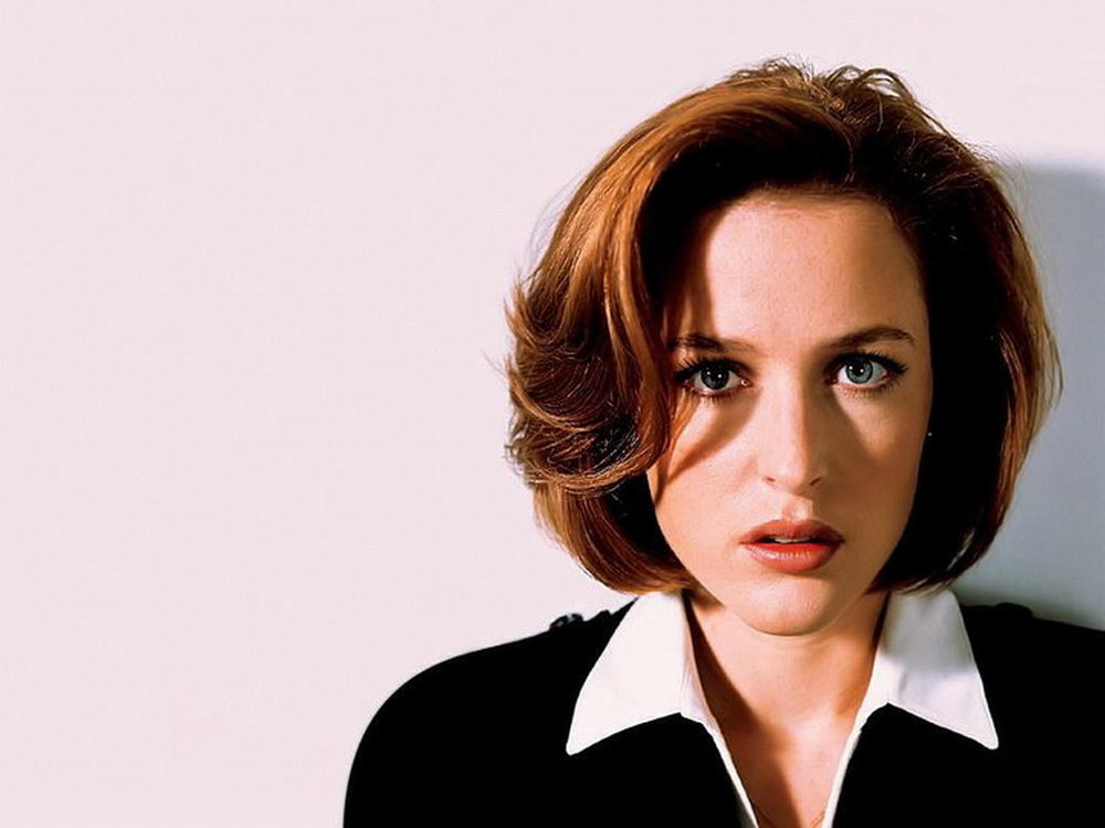Dana Scully - Kat's hero