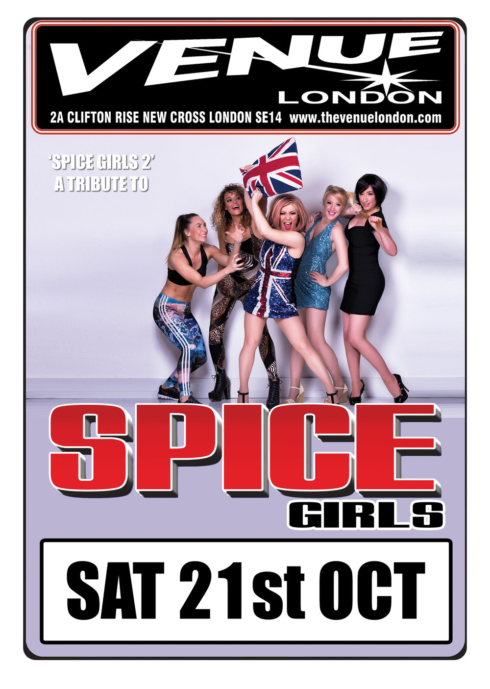 Spice Girls 2 - Possibly the most imaginative band name ever