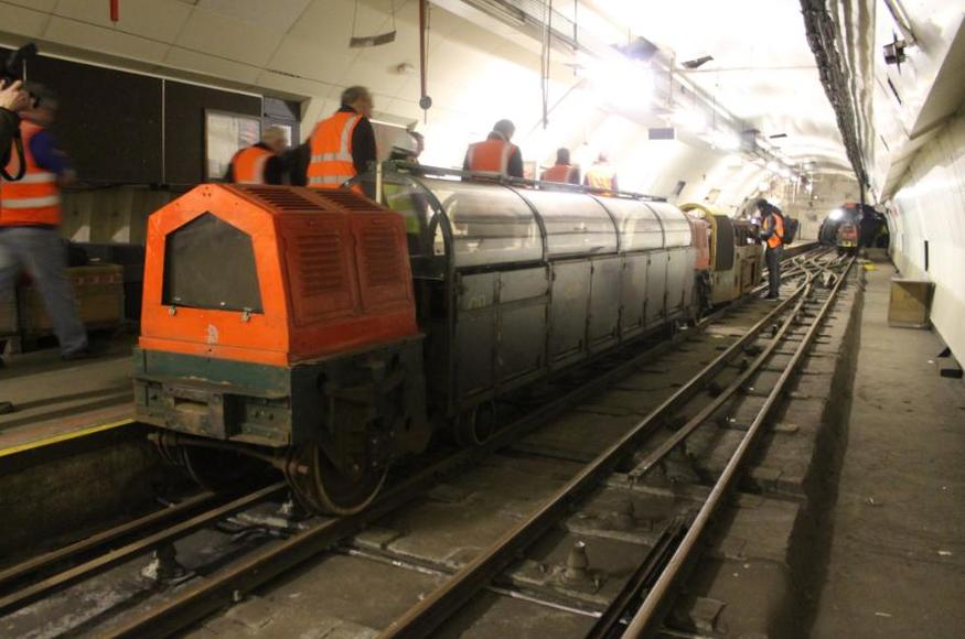 The mail rail before it became a tourist destination