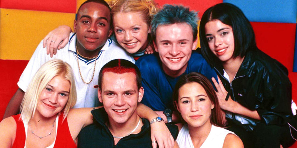 S Club 7 - Leading lights of the noughties cusp of UK pop music
