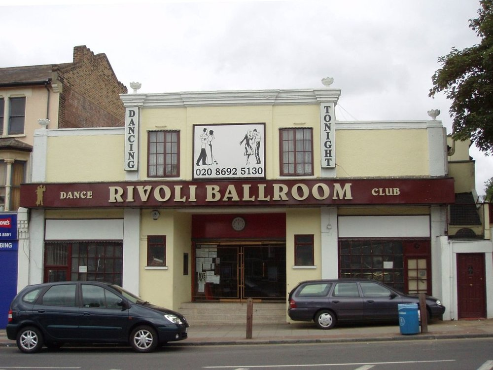 Rivoli Ballroom - Pete used to live 30 seconds away from this place