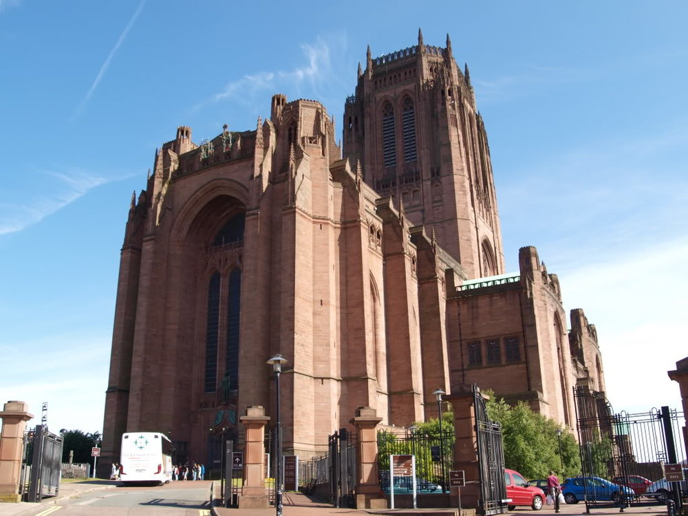 Liverpool Anglican Cathedral - Hookers used to hang out around here