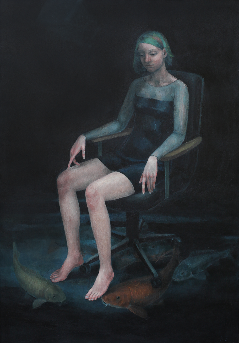 Oil on canvas, 170x120cm