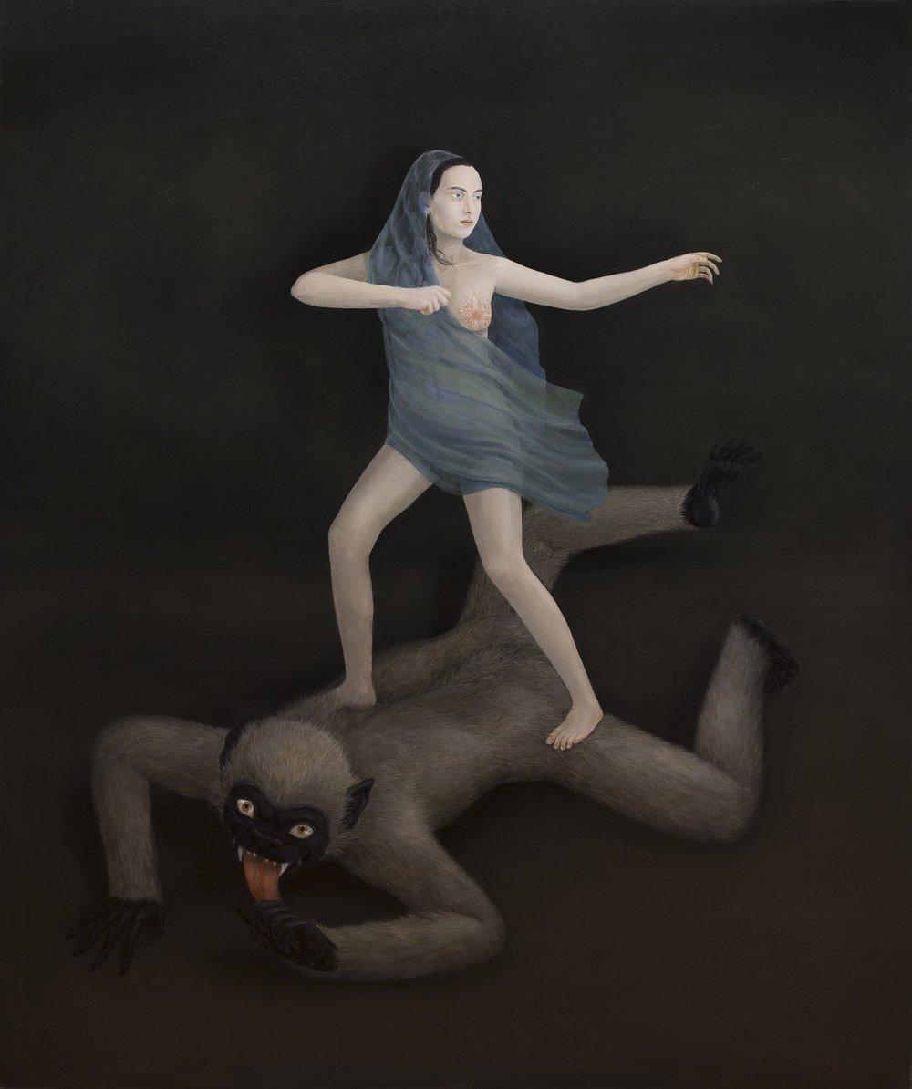 Oil on canvas, 140x116cm