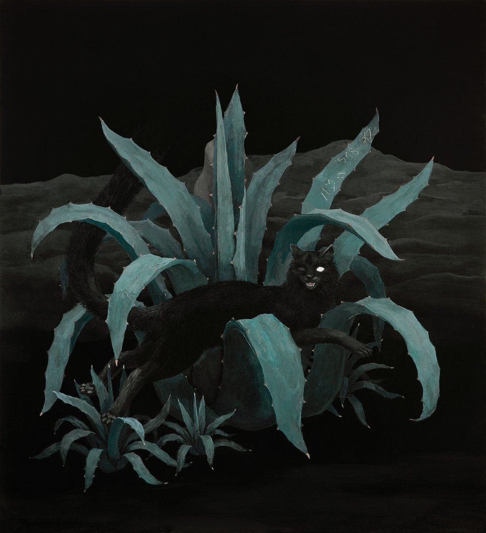 Oil on canvas 110x100 cm