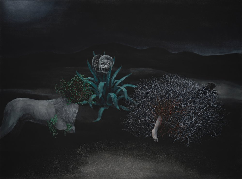 Oil on canvas  130x176 cm