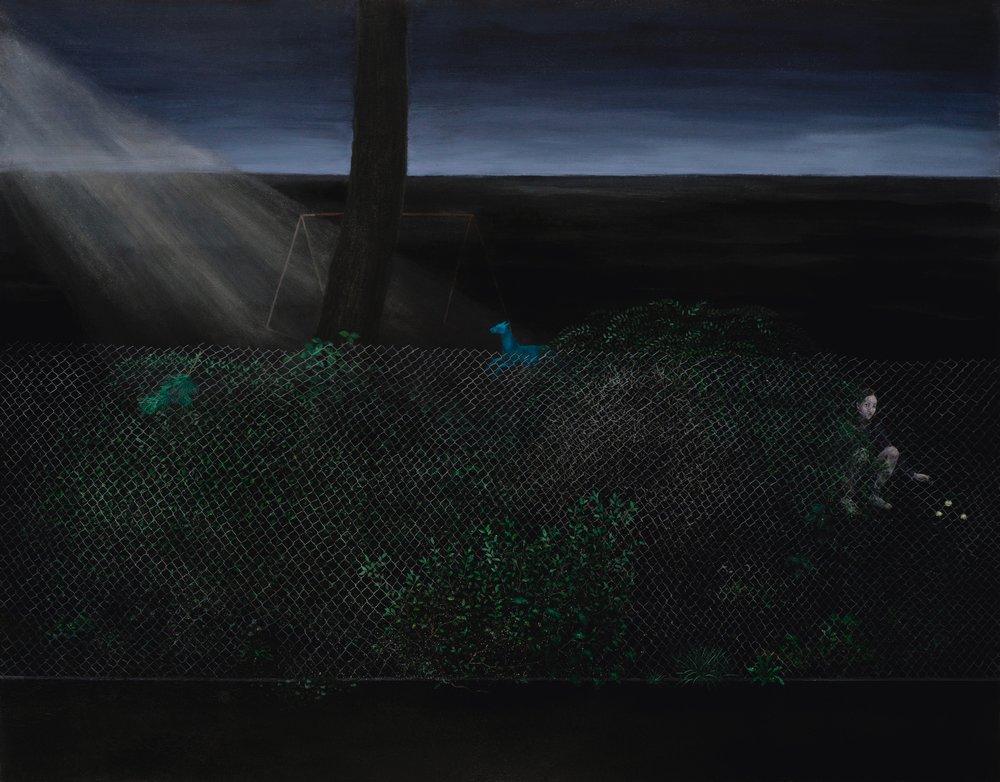 Oil on canvas 135x177 cm