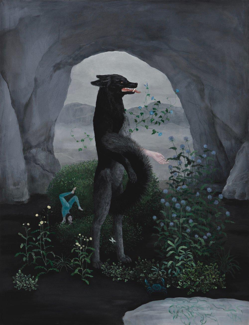 Oil on canvas 115x177 cm