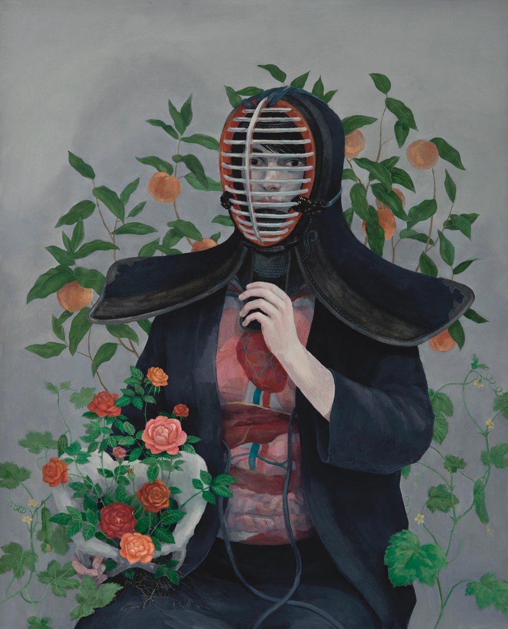 Oil on canvas 100x80 cm