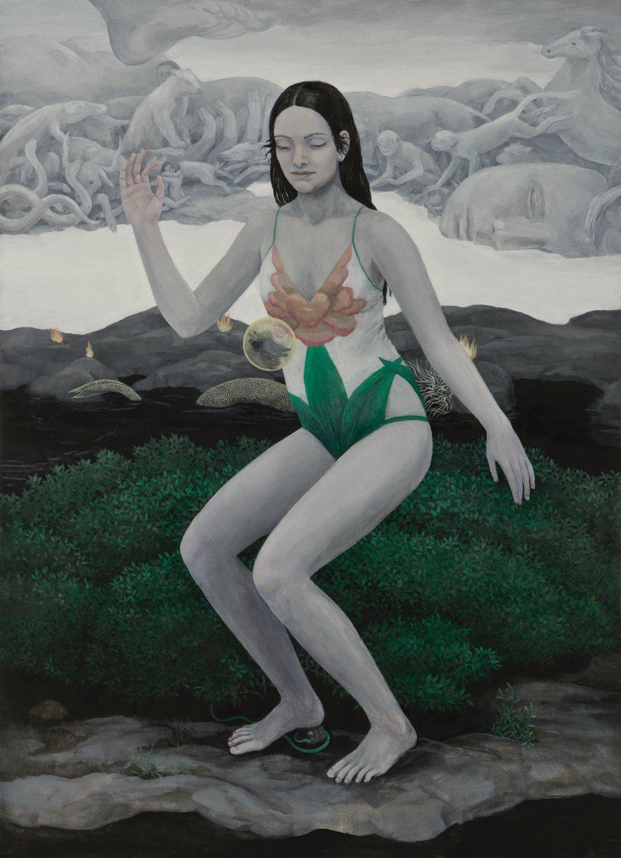Oil on canvas 140x100 cm