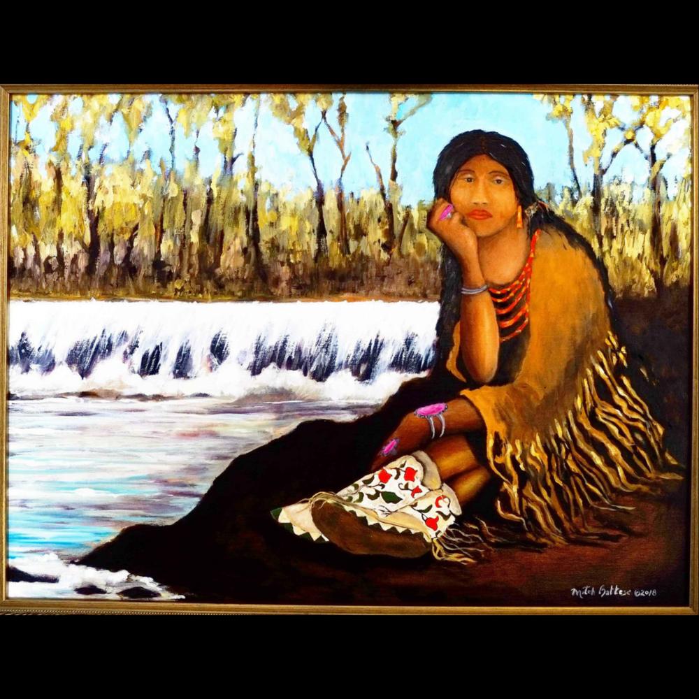 Mitch Battese, Prarie Potawatomi/Chickasaw