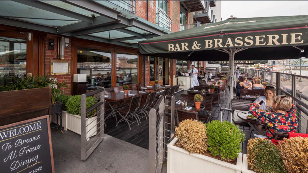 BROWN'S BAR & BRASSERIE, SHAD THAMES
