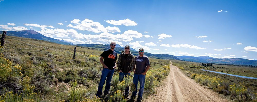 Left to Right: Joel Eggers, Jake Vancil, Kyle Heuerman