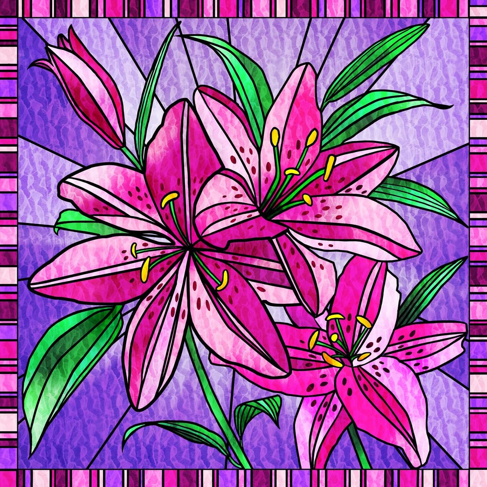 PINK LILY DISPLAY – Design Ref. 2579