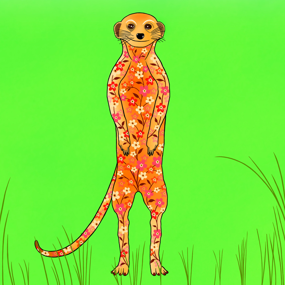 MOIRA THE MEERKAT – Design Ref. 2535