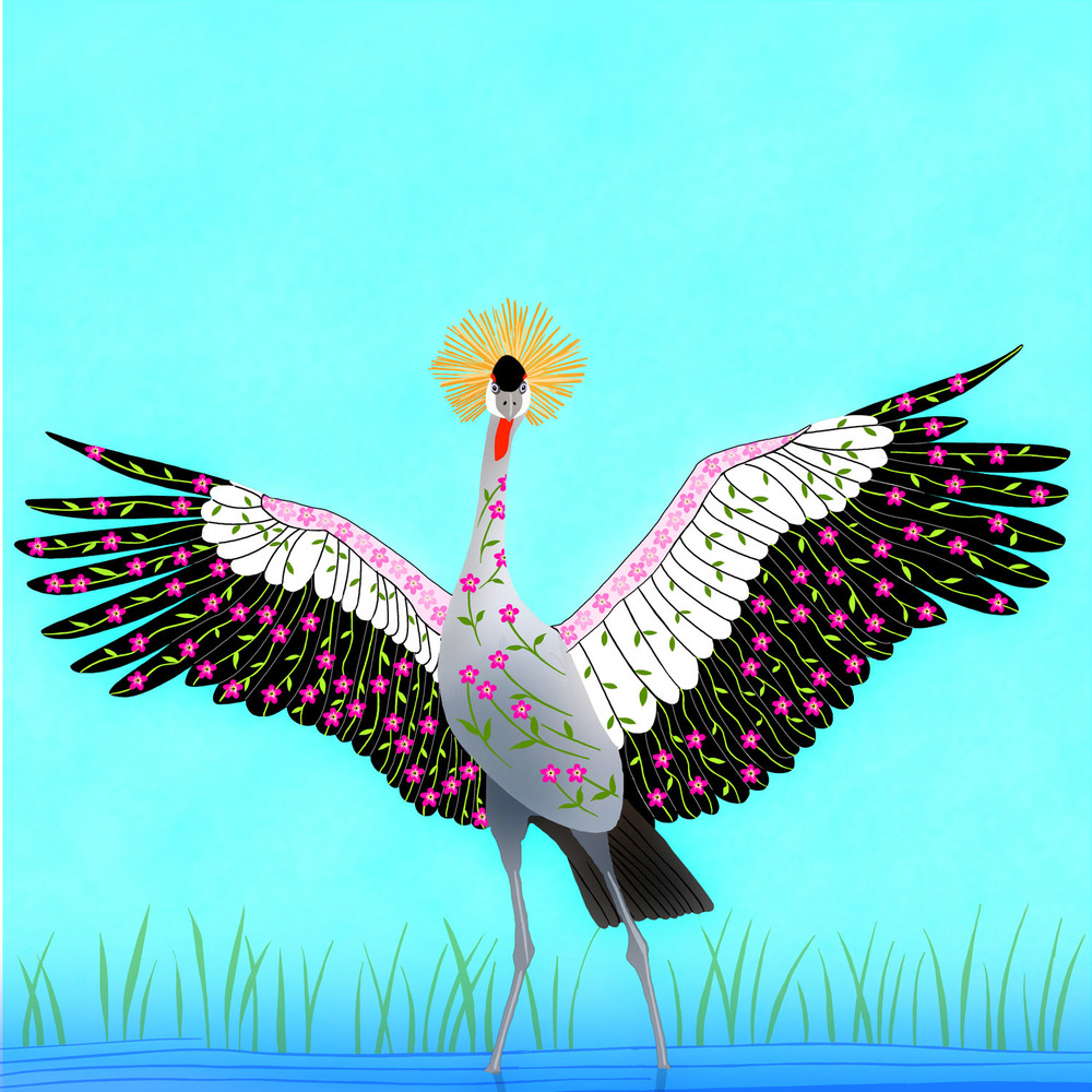 CHLOE THE CRANE – Design Ref. 2540