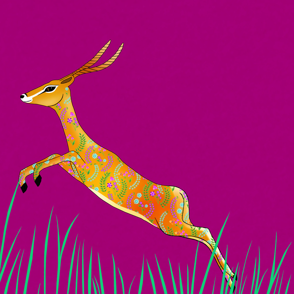 GEMMA THE GAZELLE – Design Ref. 2546