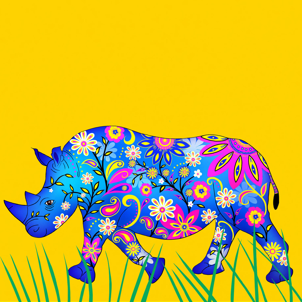 RUBY THE RHINO – Design Ref. 2550