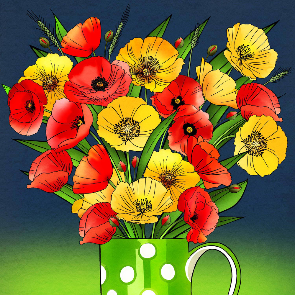 POPPY DISPLAY – Design Ref. 2481