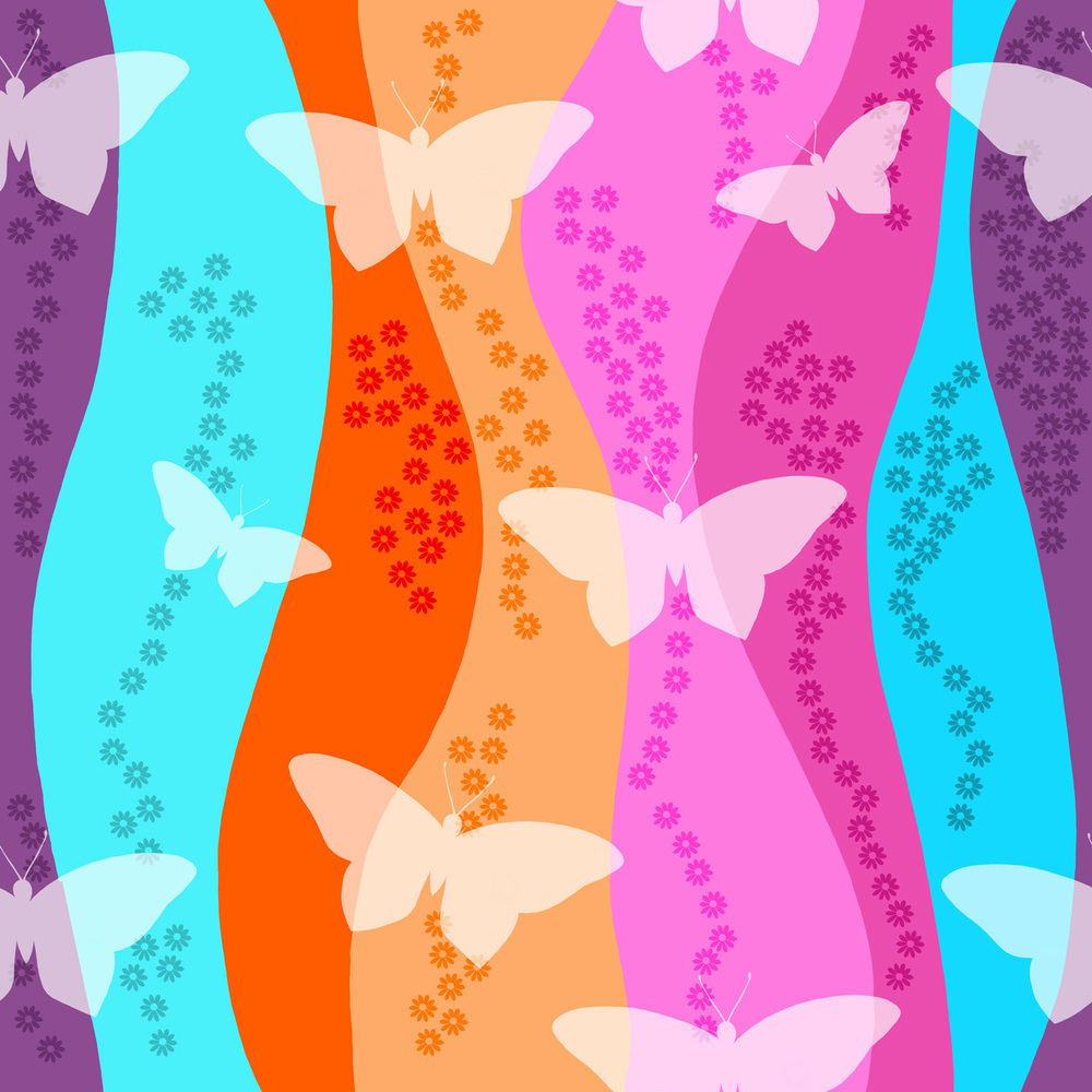 BUTTERFLY WAVES – Design Ref. 2506