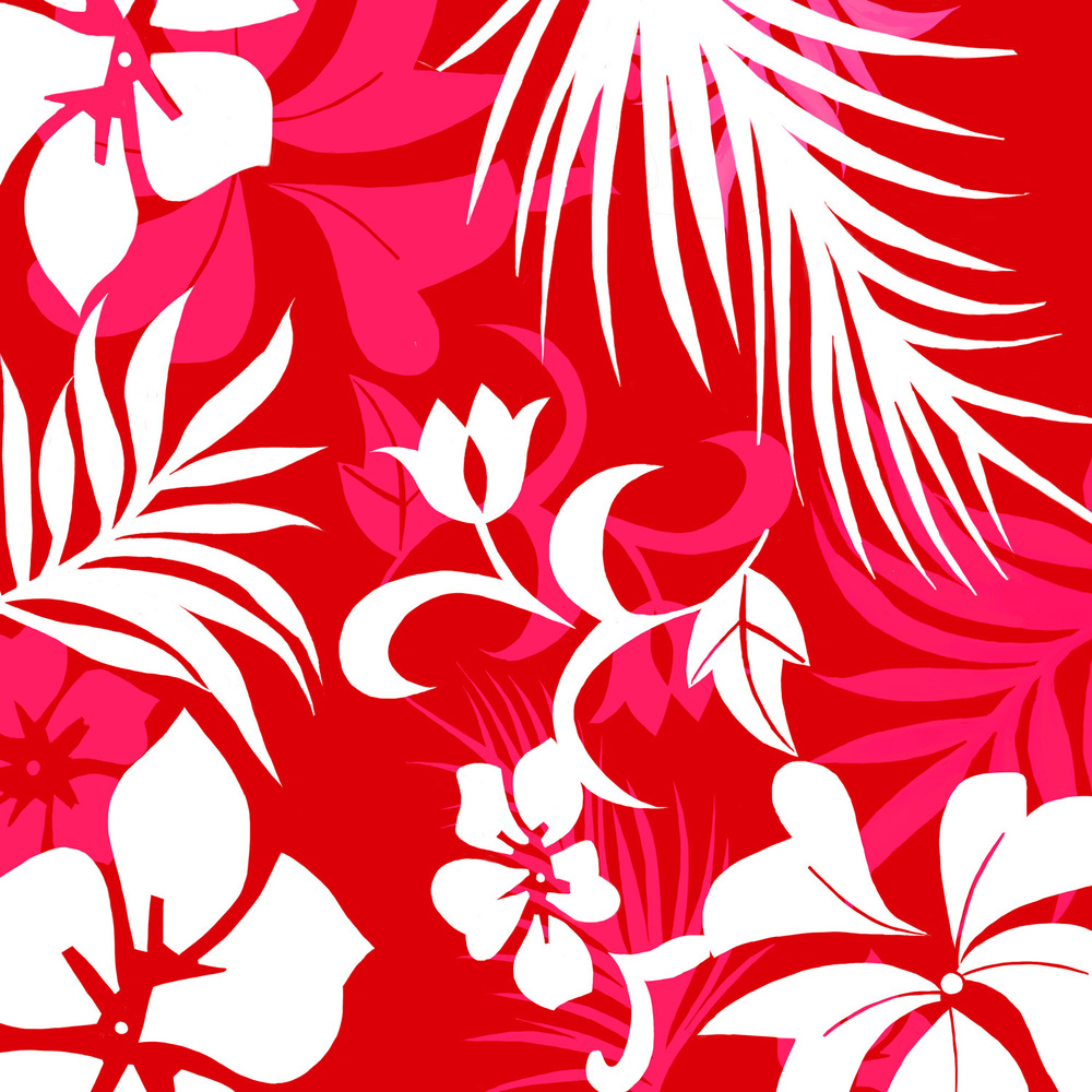 RED HAWAIIAN – Design Ref. 1641