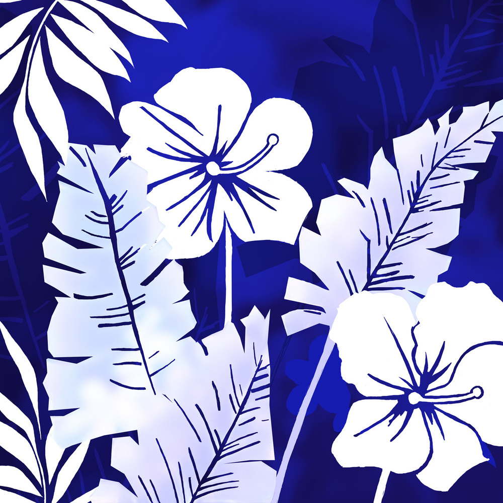 HAWAIIAN HIBISCUS – Design Ref. 1647