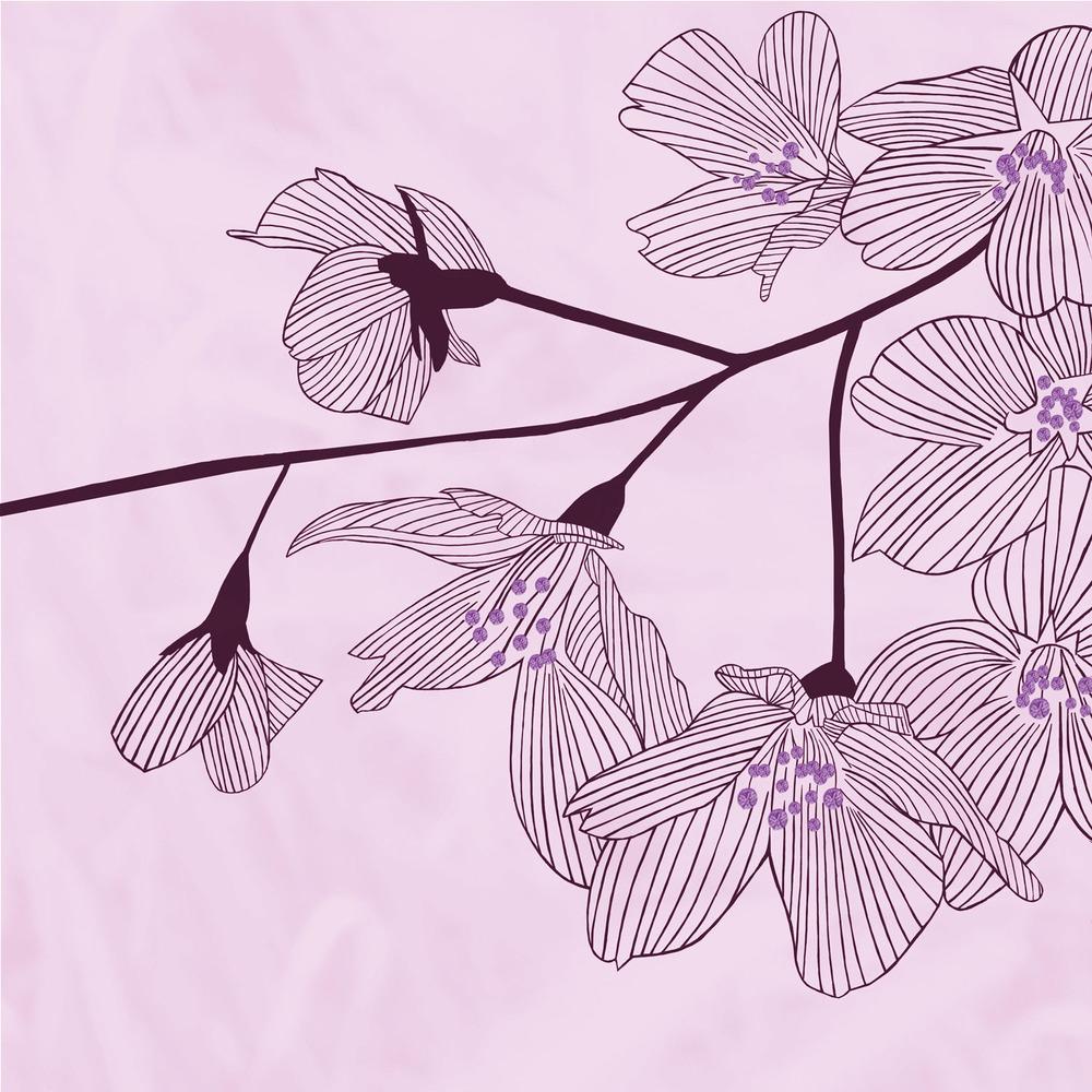 PINK BLOSSOM – Design Ref. 1796