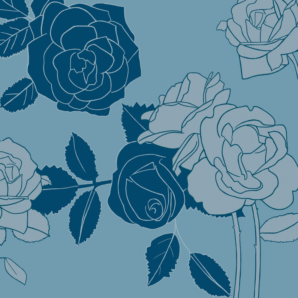 MUTED ROSE – Design Ref. 1864