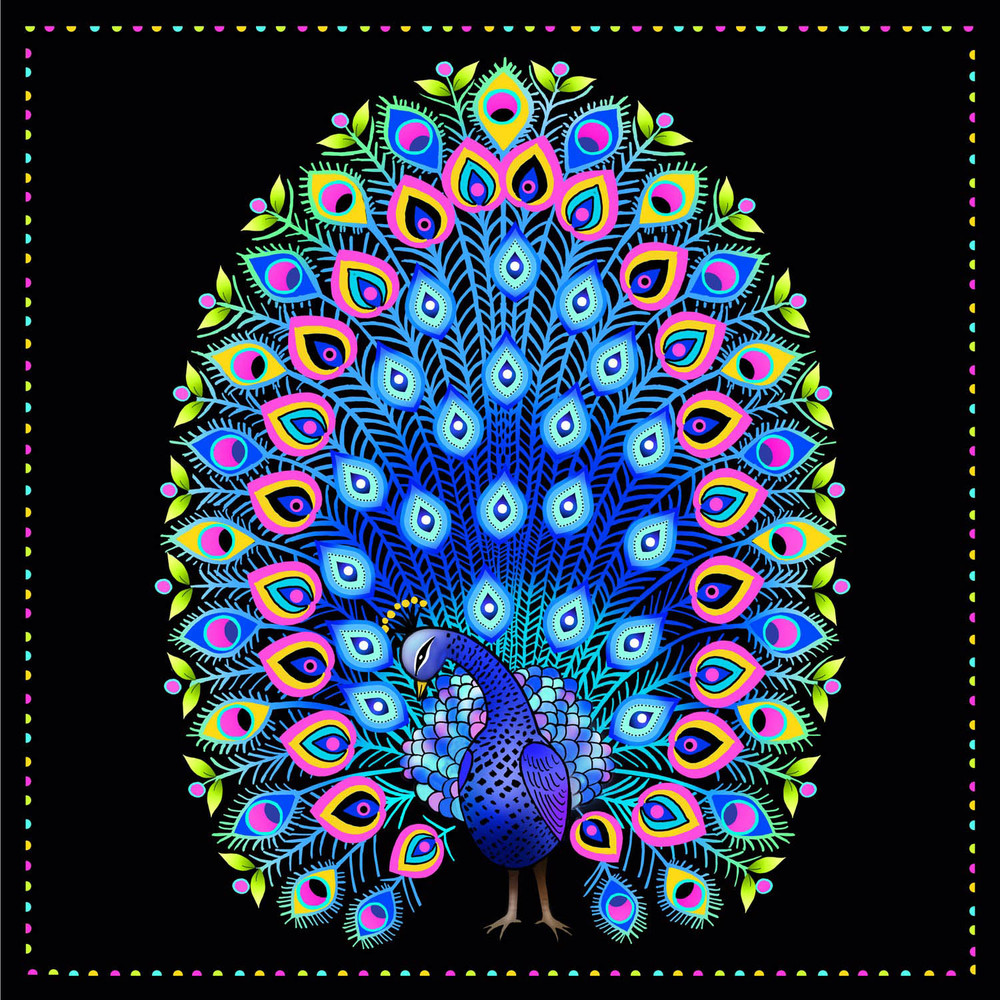 PEACOCK DISPLAY – Design Ref. 2471