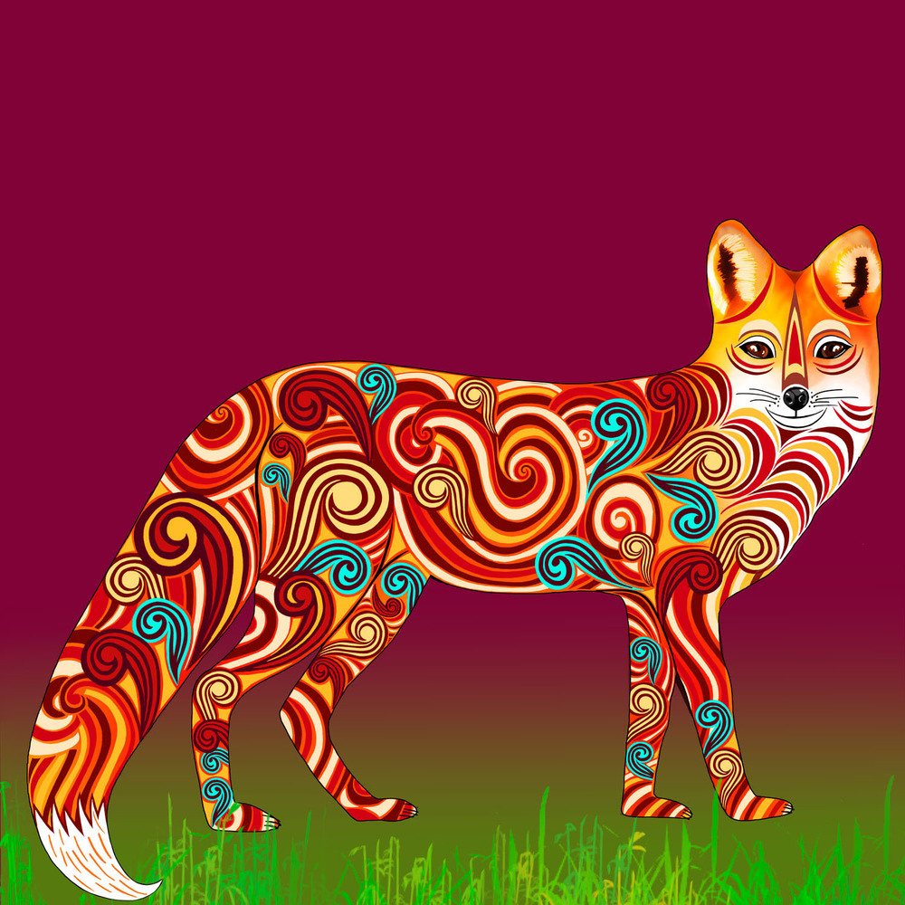 FINBAR THE FOX – Design Ref. 2570