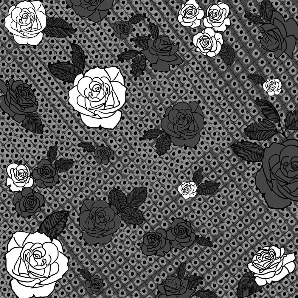 ROSES ON TEXTURE – Design Ref. 2314