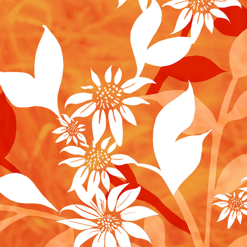 SHADES OF ORANGE – Design Ref. 1397